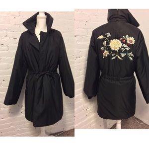 Mycra Pac Reversable Coat Parka Embroidered ML